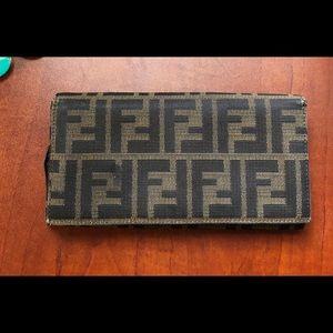 Vintage Fendi Wallet with **Flaws**